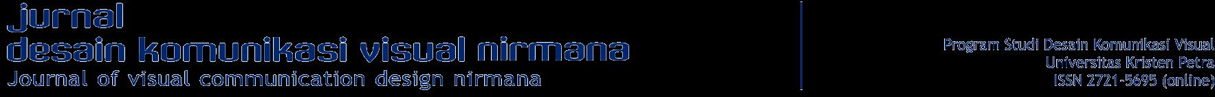 Jurnal Desain Komunikasi Visual Nirmana